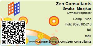 Visiting Card of Zen Consultants