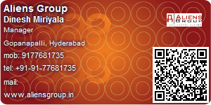 Visiting Card of Aliens Group