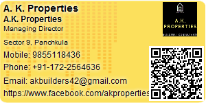 Visiting Card of A. K. Properties
