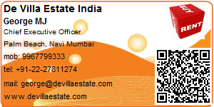 Visiting Card of De Villa Estate India