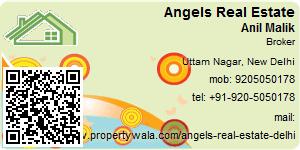 Visiting Card of Angels Real Estate