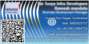 Contact Details of Sai Surya Infra Developers