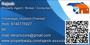 Visiting Card of Rajesh Associates