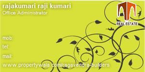 Visiting Card of Ragavendra Builders