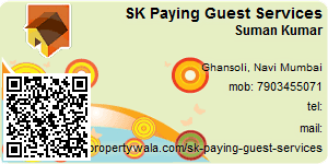 Visiting Card of SK Paying Guest Services