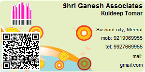 Visiting Card of Shri Ganesh Associates