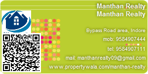 Visiting Card of Manthan Realty