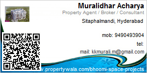 Visiting Card of Bhoomi Space Projects India Pvt. Ltd.