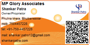 Visiting Card of MP Glory Associates
