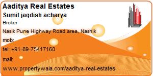 Contact Details of Aaditya Real Estates