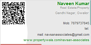 Visiting Card of Navsan associates