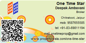 Visiting Card of One Time Star Pvt Ltd